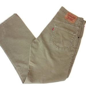 Levi's 559 Relaxed Straight Corduroy Size 31 X 30